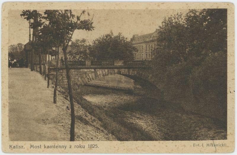 Most kamienny z roku 1825, Kalisz