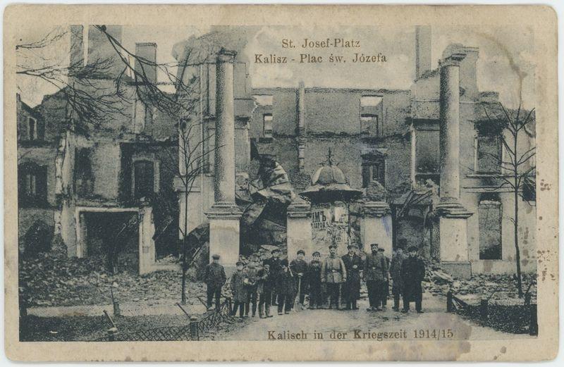 St. Josef-Platz  Kalisz Plac Św. Józefa