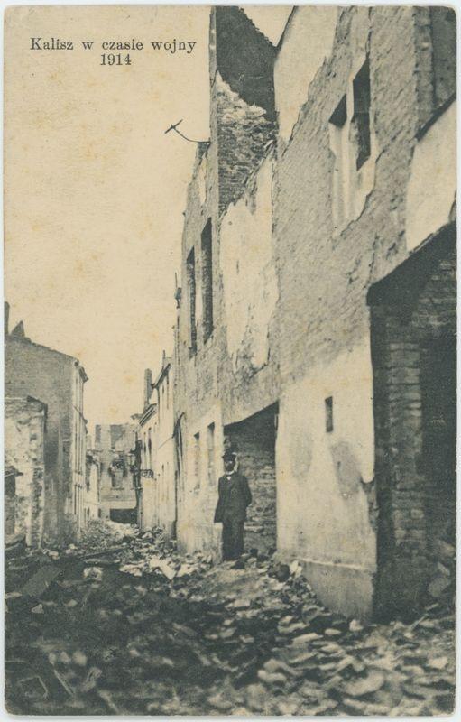 Kalisz w czasie wojny 1914