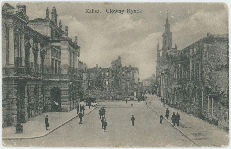 Kalisz. Główny Rynek