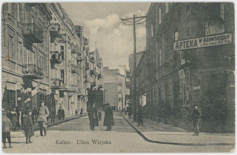 Kalisz. Ulica Wiejska