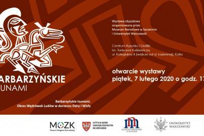 """Wystawa """"Barbarzyńskie Tsunami"""" w Kaliszu"""